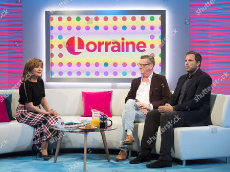 Lorraine Kelly, Kevin Kennedy and Dan Wooton
