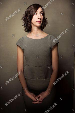"Filmmaker Lana Wilson of the documentary ""After Tiller"" poses for a portrait during the 2013 Sundance Film Festival at the Fender Music Lodge, on in Park City, Utah"