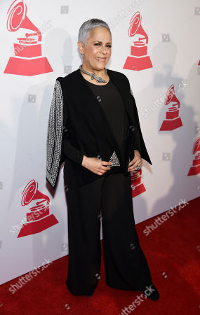 Stock Image of Honoree Eugenia Leon poses at the 2016 Latin Grammy Special Merit Awards at the Four Seasons Hotel, in Las Vegas