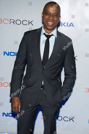 """Keith Powell attends the """"30 Rock"""" farewell wrap party on in New York"""