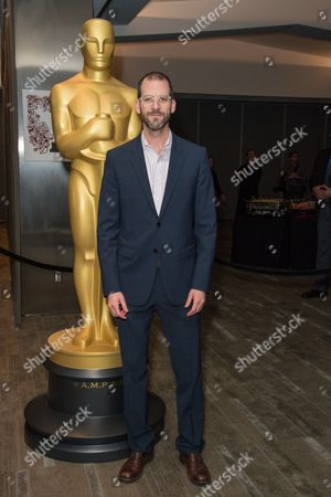"""Charlie Siskel arrives at the 87th Academy Awards - """"Documentaries"""" at the Samuel Goldwyn Theatre, in Beverly Hills, Calif"""