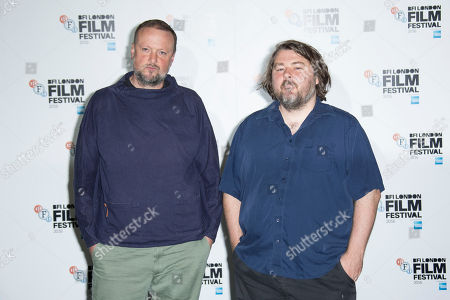 Producer Andrew Starke, and Director Ben Wheatley right, pose for photographs during a photo call to launch the 60th BFI London Film Festival, a a central London cinema, . The Festival takes place from Wednesday 5 October until Sunday 16 October and opens with the European Premiere of Amma Asante's A United Kingdom and closes with the European Premiere of Ben Wheatley's Free Fire