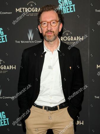 """John Carney attends the premiere of """"Sing Street"""" at Metrograph, in New York"""