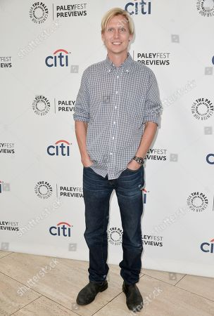 """Phil Klemmer arrives at the PaleyFest Previews: Fall TV show """"The Tomorrow People"""" at The Paley Center for Media on in Beverly Hills, Calif"""