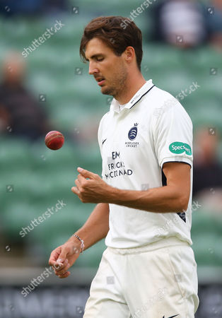 Steve Finn of Middlesex bowling during the 3rd Day of the Division 1 Specsavers County Championship match between Somerset and Middlesex at The Cooper Associates County Ground, Taunton, England. 27th September 2017 (