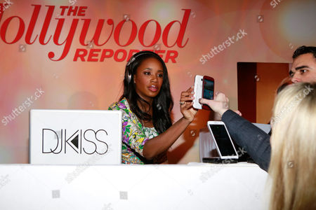 Stock Photo of JaKissa Taylor-Semple AKA DJ Kiss attends The Hollywood Reporter Nominees Night Presented by Samsung Galaxy at Spago, in Beverly Hills, Calif