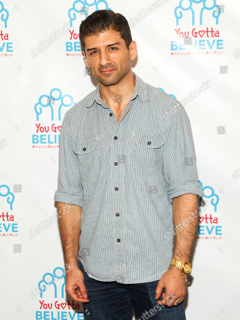 """Tony Yazbeck attends Voices for The Voiceless: Stars for Foster Kids in New York. Yazbeck will step into the heroic shoes of former """"Glee"""" star Matthew Morrison in Broadway Finding Neverland. Morrison last show is Jan. 24 and Yazbeck takes over Jan. 26 at the Lunt-Fontanne Theatre"""