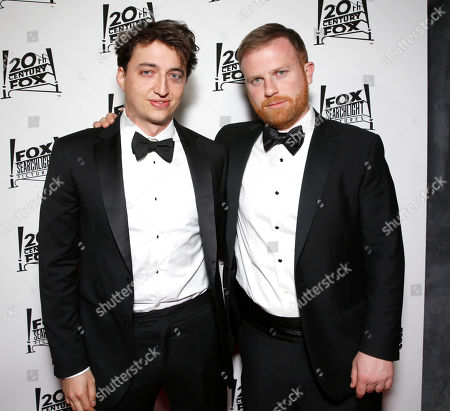 Benh Zeitlin and Michael Gottwald attend the Twentieth Century Fox And Fox Searchlight Pictures Academy Awards Nominees Party at Lure on in Los Angeles