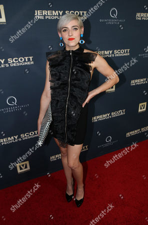 Rosson Crow attends the World Premiere of JEREMY SCOTT: THE PEOPLE'S DESIGNER, presented by The Vladar Company and Quintessentially at the TCL Chinese Theatre, in Hollywood, Calif