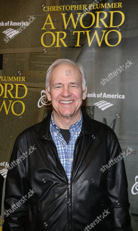 """Editorial picture of """"A Word or Two"""" CTG/Ahmanson Theatre Opening Night, Los Angeles, USA"""