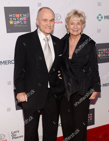 Raymond Kelly and wife attend the Sixth Annual Women in the World Summit opening night at David H. Koch Theater, Lincoln Center, in New York