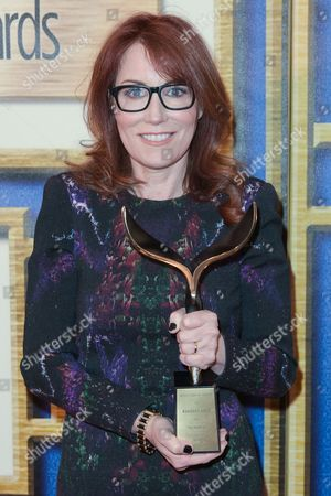 Stock Photo of Margaret Nagle attends the press room at the 2015 Writers Guild Awards held at the Hyatt Regency Century Plaza, in Los Angeles