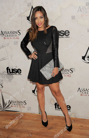 Actress Korrina Rico poses at the Assassin's Creed IV Black Flag launch party at Greystone Manor on in West Hollywood, Calif