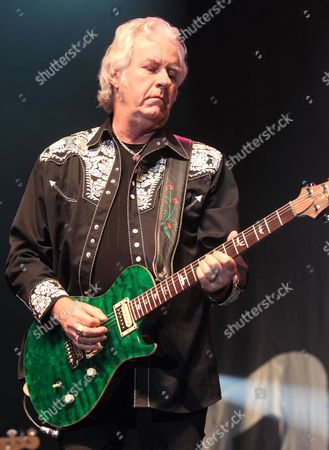Howard Leese of the classic rock band Bad Company performs at the Event Center in the Sands Casino, in Bethlehem, Pa
