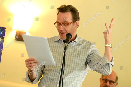 Bryan Cranston reads from 'The Magiker' by Charles Dennis at The Caribou Room at Sportsmen's Lodge on in Studio City, Calif