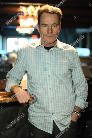 Bryan Cranston poses after reading from 'The Magiker' by Charles Dennis at The Caribou Room at Sportsmen's Lodge on in Studio City, Calif
