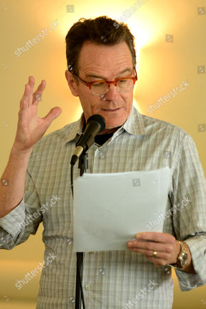 """Editorial photo of Bryan Cranston Book Reading of """"The Magiker"""" by Charles Dennis, Studio City, USA"""