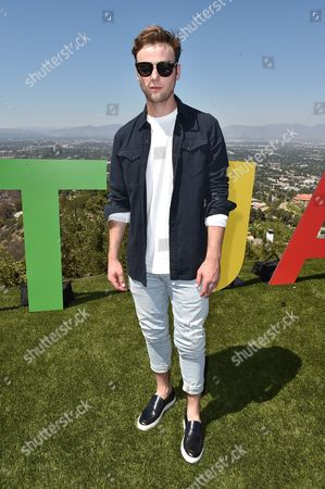 Sterling Beaumon attends the Just Jared 4th Annual Summer Bash presented by Uno, in Beverly Hills, Calif