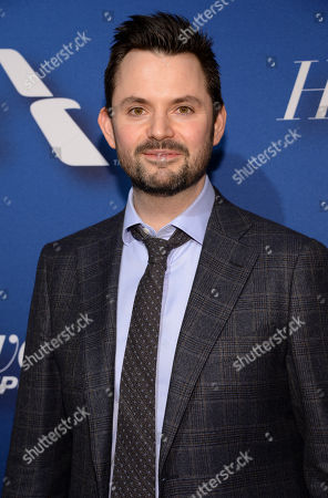 Writer Matt Charman arrives at The Hollywood Reporter's Academy Awards Nominees Night at Spago, in Beverly Hills, Calif