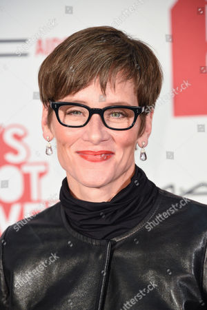"""Nancy Mahon arrives at M·A·C Cosmetics and the M·A·C AIDS Fund's worldwide premiere of It's Not Over"""" at Quixote Studios,, in West Hollywood, California"""