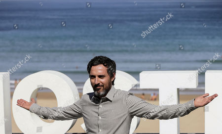 Spanish actor and cast member Andres Gertrudix poses during the photocall of the film 'Morir' (Lit: To Die'), directed by Fernando Franco, at the San Sebastian International Film Festival, in San Sebastian, northern Spain, on 27 September 2017. The 65th Donostia Zinemaldia Festival runs from 22 to 30 September.