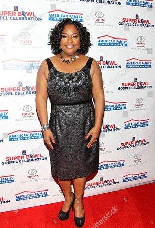 Stock Photo of Sherri Sheperd attends the 14th Annual Super Bowl Gospel Celebration Concert on in New Orleans, LA