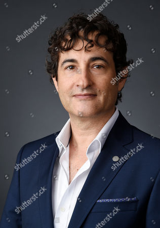 """Joshua Michael Stern, creator and showrunner of the Epix series """"Graves,"""" poses for a portrait during the 2016 Television Critics Association Summer Press Tour at the Beverly Hilton, in Beverly Hills, Calif"""