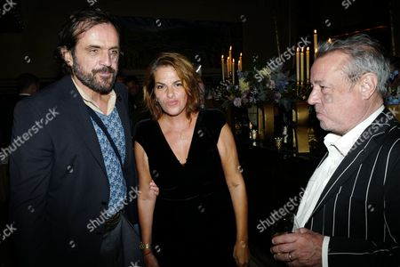 Andreas Kronthaler, Tracey Emin and Hamish McAlpine