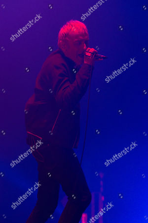 Singer Karl Hyde of Underworld performs at Camp Bestival 2015 at Lulworth Castle, in Dorset, England. Thousands are to attend to see headliners Clean Bandit, Kaiser Chiefs and Underworld
