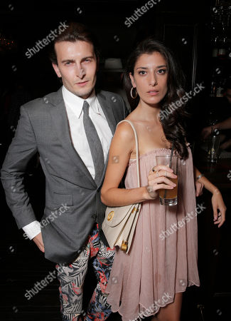 Cameron Moir and Joanna Janetakis attend the after party for the Los Angeles Premiere of Millennium Films and Radius TWC's Lovelace presented by Casa Reale, on Monday, August, 5th, 2013 in Los Angeles