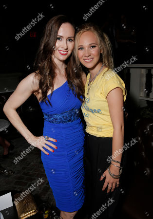 Erin Carufel and Juno Temple attend the after party for the Los Angeles Premiere of Millennium Films and Radius TWC's Lovelace presented by Casa Reale, on Monday, August, 5th, 2013 in Los Angeles