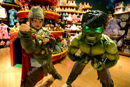 Editorial photo of Disney Store's Halloween BOOtique, Glendale, USA
