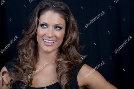 American dancer, model, professional wrestler, valet and actress Eve Torres poses for a portrait, on in New York