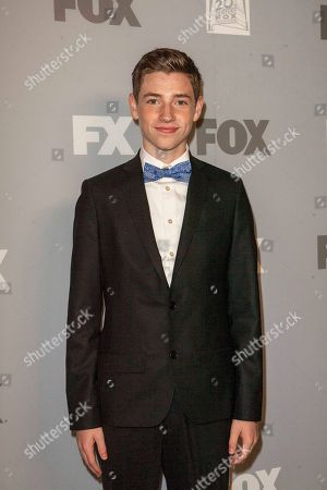 Jackson Pace arrives at the FOX Primetime Emmy's after party at Soleto on in Los Angeles
