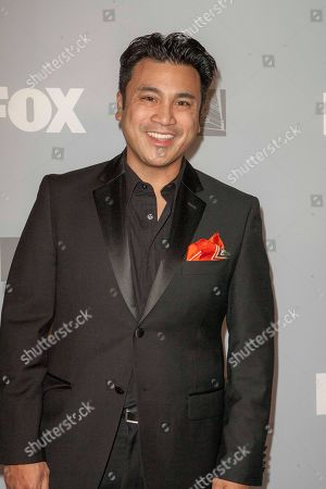 Christian Moralde arrives at the FOX Primetime Emmy's after party at Soleto on in Los Angeles