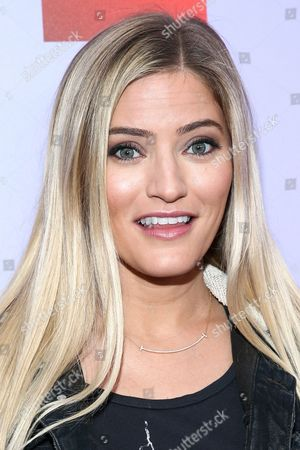 IJustine attends the iHeart80s Party held at The Forum, in Inglewood, Calif