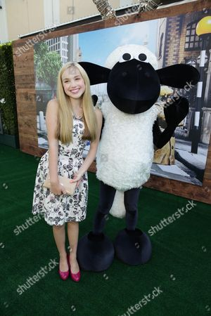 "Brady Reiter seen at Los Angeles Special Screening of Lionsgate's ""Shaun the Sheep Movie"" at Regency Village Theatre on Saturday, August 01, [2015, in Westwood, CA"
