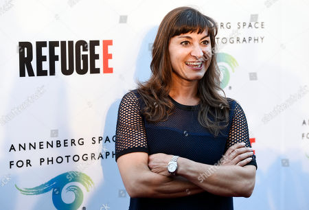 Editorial photo of REFUGEE Art Exhibition, Los Angeles, USA