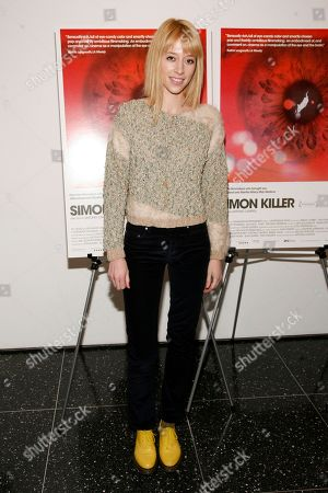 """Director Tracy Antonopoulos attends the premiere of """"Simon Killer"""", at the Museum of Modern Art in New York"""