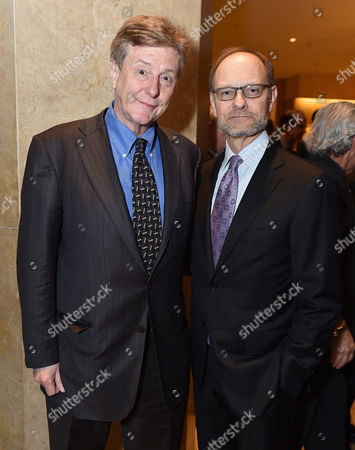 """Brian Hargrove and David Hyde Pierce attend the 24th annual Alzheimer's Association """"A Night at Sardi's"""" at the Beverly Hilton hotel, in Beverly Hills, Calif"""