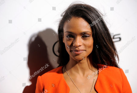 Kandyse McClure attends The Weinstein Company and Lexus Present Lexus Short Films at the Directors Guild of America Theater, in Los Angeles