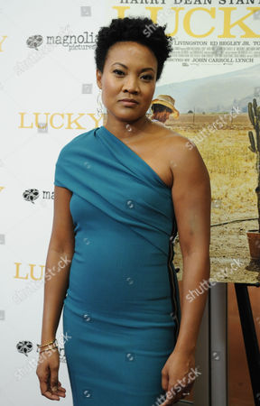 Editorial image of 'Lucky' film premiere, Arrivals, Los Angeles, USA - 26 Sep 2017