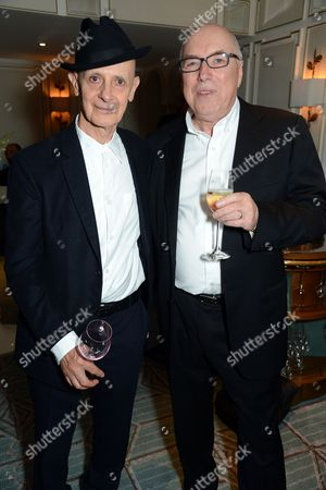 Stock Picture of David Remfry (L) and guest