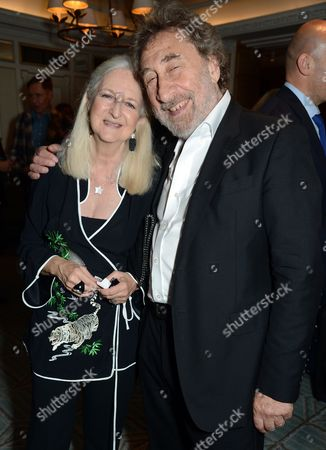 Jenny De Yong and Howard Jacobson