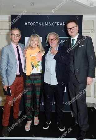 Ewan Venters, Helen Bellany and Frank Cohen
