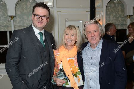 Stock Photo of Ewan Venters, Helen Bellany and Frank Cohen
