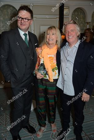 Stock Image of Ewan Venters, Helen Bellany and Frank Cohen