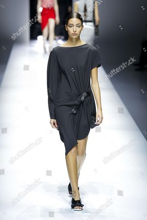 Nora Attal on the catwalk