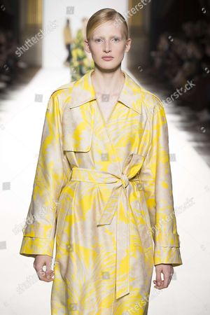 Editorial photo of Dries Van Noten show, Runway, Spring Summer 2018, Paris Fashion Week, France - 27 Sep 2017