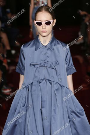 Editorial photo of Rochas show, Runway, Spring Summer 2018, Paris Fashion Week, France - 27 Sep 2017